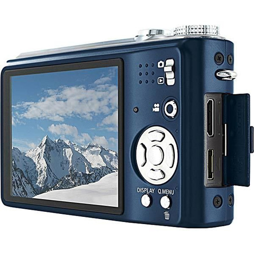 Panasonic Lumix DMC-TZ7EE-A, Blue Цифровая фотокамера Panasonic; Япония инфо 2489l.