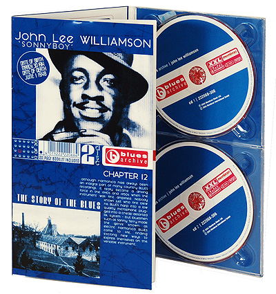John Lee Williamson The Story Of The Blues (2 CD) Серия: Blues Archive инфо 976o.