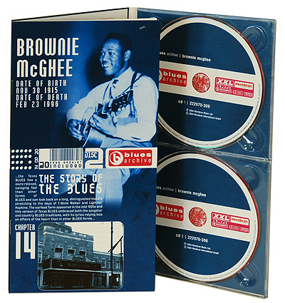 Brownie Mcghee The Story Of The Blues (2 CD) Серия: Blues Archive инфо 982o.
