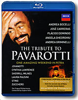 The Tribute To Pavarotti: One Amazing Weekend In Petra (Blu-ray) Формат: Blu-ray (PAL) (Keep case) Дистрибьютор: Universal Music Russia Региональный код: С Количество слоев: BD-50 (2 слоя) Субтитры: инфо 1297o.